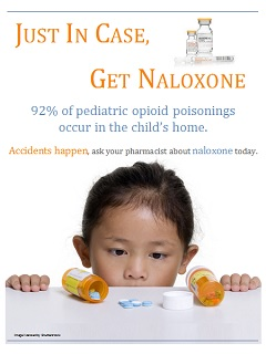 Posters - Prevent & Protect - Save a Life, Get Naloxone -